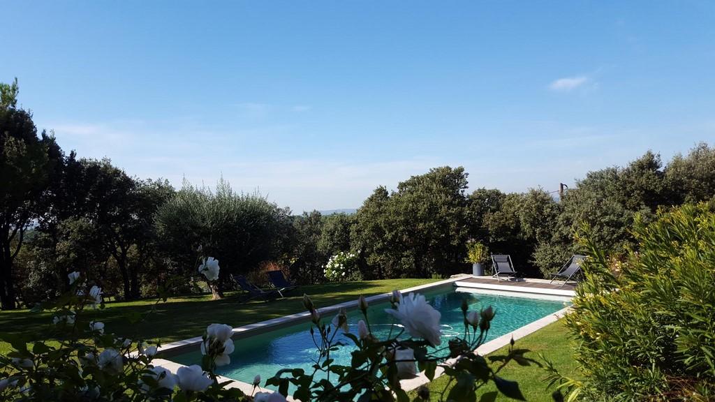 Piscine chauffee 3 les terrasses gordes luberon provence - Chambre d hote piscine chauffee ...